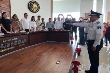 Joaquín Morales releva a Juan Rodríguez Olvera en la Policía Municipal de Solidaridad