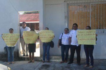 Por instrucciones de Candy Raygoza, echan a la calle a 30 promotores del IEEA en FCP