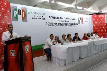 PRI, preparado en sus acuerdos para la elección de ayuntamientos de Quintana Roo