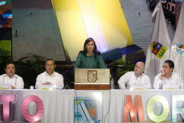 Puerto Morelos brilla con luz propia, a dos años de su nacimiento como Municipio: Laura Fernández