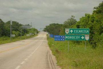 Carreterazo en San Pedro Peralta