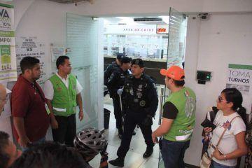 Falsa alarma de bomba en Palacio Municipal de Benito Juárez