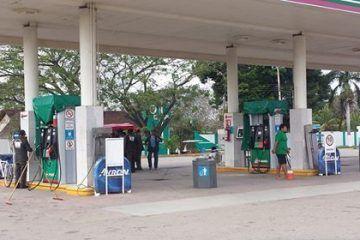 Frenan despacho de gasolina en estación de JMM