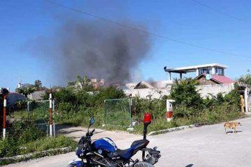 Incendio de viviendas provoca alarma en Mahahual