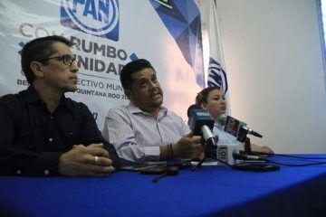 Respaldará PAN al candidato que elija PRD para Benito Juárez