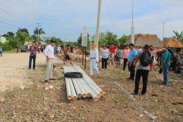 Agua para todos en el municipio de Bacalar