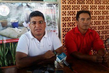 Manifestación en puerta, acusan de 'tortuguismo' a Delegación de Sagarpa en Q. Roo