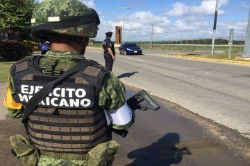 Marina Y Ejército Mantienen Operativo En Ribera Del Río Hondo