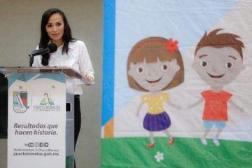 Preside Laura Fernández inicio del 8° Parlamento Infantil en Puerto Morelos