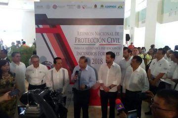 Trabaja Gobierno de México para contrarrestar impacto negativo al turismo en Q. Roo