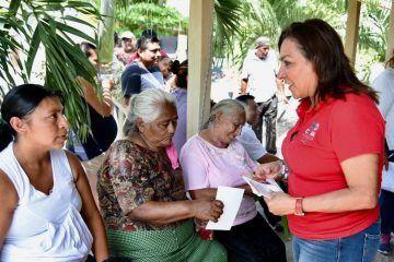 Trabajaré para que las familias del campo accedan a más proyectos alternativos: Cora Amalia