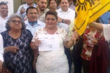 Planchado, Nelia Uc va por el PRD en Bacalar