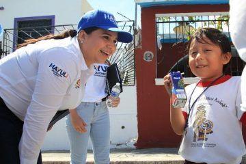 Atenderemos el sano desarrollo de 90 mil niños en Quintana Roo: Mayuli