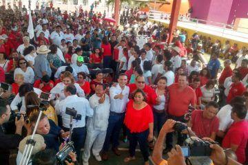 Con un llamado a recuperar la seguridad y paz social, arranca Raymundo King campaña rumbo al Senado