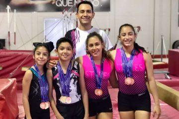 Gimnastas ponen en alto el nombre de Chetumal en Copa Internacional de Guadalajara