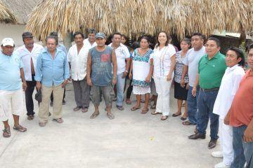 Cora Amalia compromete total apoyo a la cultura y comunidades mayas