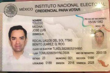 'Chanito', disipa dudas sobre su residencia como cancunense. Mañana se registra ante el IEQROO