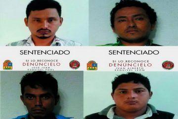 Imponen pena por 284 años de prisión contra cuarteto de secuestradores
