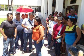 Invasores denuncian hostigamiento de autoridades portomorelenses