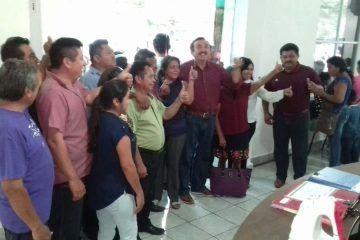 Domingo Flota, pide permiso al IEQROO para ser candidato por JMM