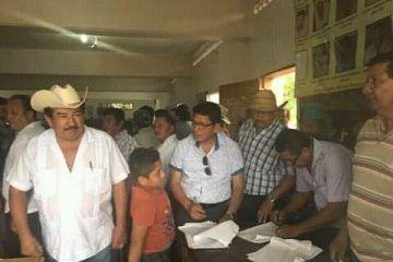 Leopoldo Santos, relevo de corrupción en el Comisariado del Ejido Laguna Om