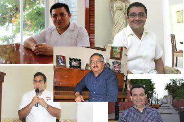 Con propuestas, cinco candidatos disputan la presidencia municipal de Valladolid