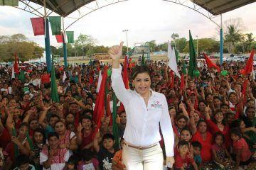 Rossana Romero, abre campaña por el PRI en JMM