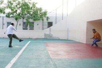 Rueda el balón en el Centro Universitario de Valladolid