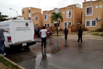 Joven recibe la mañana con el cadáver de su novio a las puertas de su casa