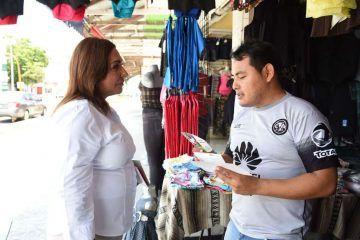 Vamos a rescatar la actividad comercial de la Avenida Héroes: Cora Amalia