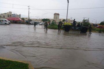 Con rondines permanentes, Ejército mantiene bajo estrecha vigilancia las calles de Cancún