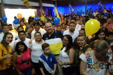 José Esquivel 'Chacmex', arranca campaña por la presidencia de Felipe Carrillo Puerto