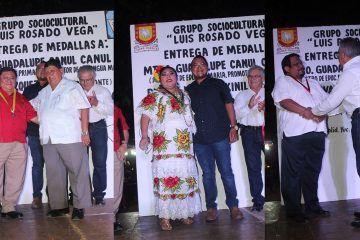 Velada Cultural, enaltece reconocimientos a trabajo de vallisoletanos