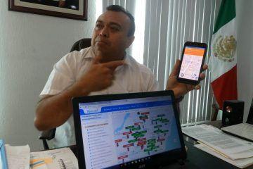 Refuerzan seguridad en taxis del SUCHAA con sistema de monitoreo GPS