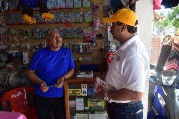 Julián Ricalde compromete apoyo a las Pymes
