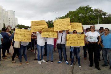 En Playa del Carmen, ministeriales se suman a exigencias contra la FGE