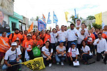 Miguel Ramón por la seguridad, estabilidad y progreso en Quintana Roo