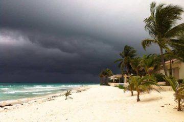 Caerán más precipitaciones pluviales en el norte de Q. Roo durante las próximas 24 horas