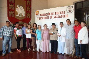 Asociación de Poetas y Escritores de Valladolid, entrega dúo de galardones