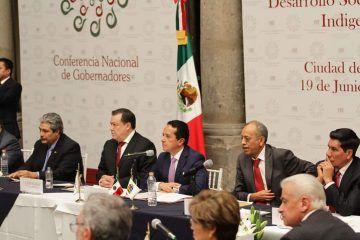 Preside Carlos Joaquín Comisión para el Desarrollo Social y Pueblos Indígenas de CONAGO