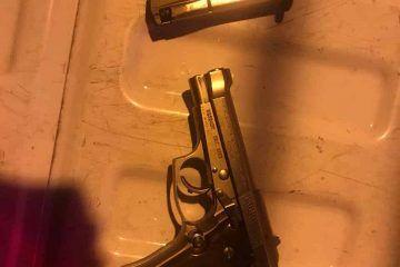 Homicida detenido por la Policía Estatal durante una oportuna reacción