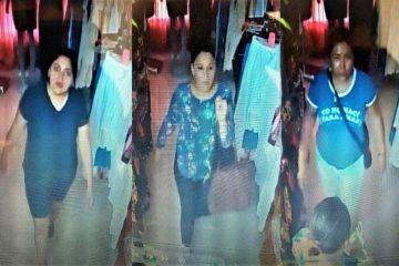 Alertan por cuarteto de malandros dedicados a robar en comercios de ropa