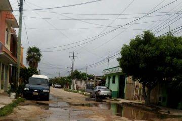 Lluvias multiplican el problema de baches en Chetumal