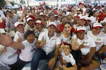 Con el apoyo de las familias isleñas, Juan Carrillo ganará las elecciones