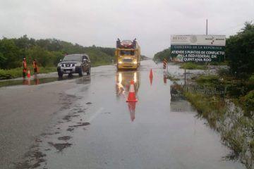 Abren circulación en el tramo Carrillo Puerto-Tulum
