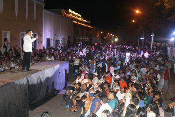 Reducir salarios de funcionarios, promete Eufracio Osorio al cerrar campaña