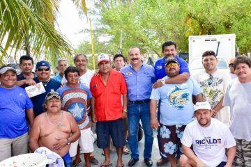 Sector pesquero respalda a Julián Ricalde