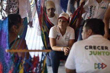 Es el trabajo coordinado, clave para el desarrollo de Quintana Roo: Leslie Hendricks