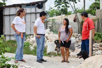 Akumal carece de todos los servicios, los cuales serán atendidos: Víctor Mas