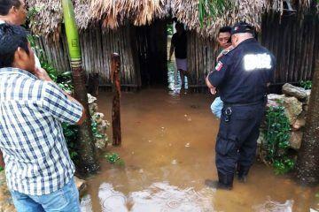 Pese a intensas lluvias, contratiempos para Valladolid gracias al trabajo de Protección Civil